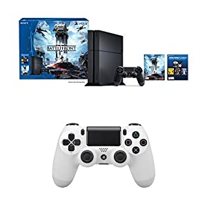 PlayStation 4 500GB Console - Star Wars Battlefront Bundle with DualShock 4 Controller
