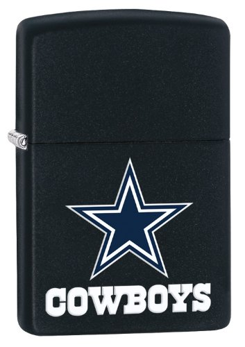 Zippo Lighter - NFL Dallas Cowboys Black Matte at Amazon.com