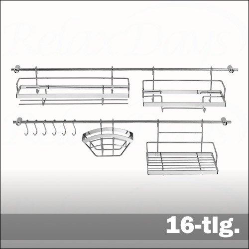 Accessori Cucina Prezzo: Mensola barre portautensili da cucina con ...