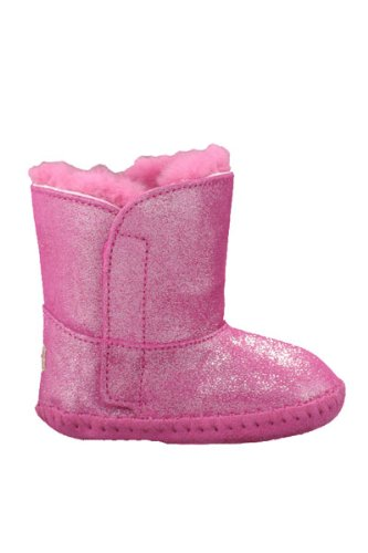 UGG - Infant Girl's Cassie Glitter Boot - Fuchsia 2/3 Months