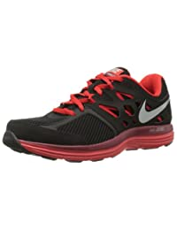New Nike Dual Fusion Lite Black/Red Mens Running Shoes