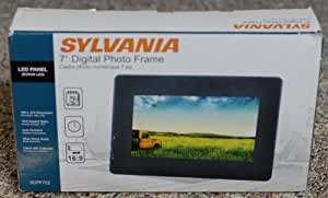 Sylvania 7-Inch Digital Picture Frame (Black)