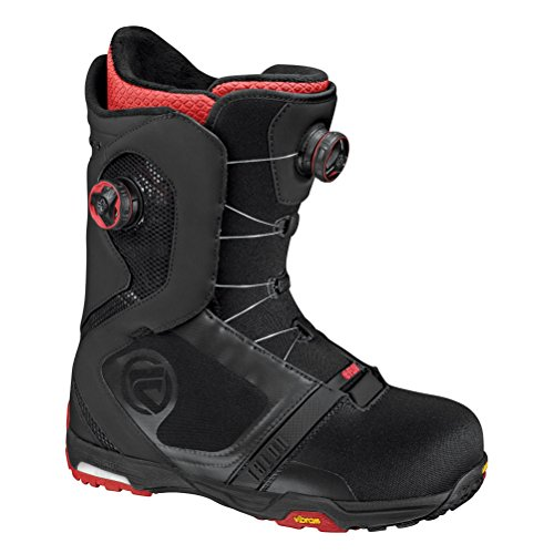 Flow Talon Focus Boot – Men's Black/Red 9.5