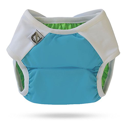 Super Undies Hybrid Undies Shell, Aqua, Medium (20-35 lbs) - 1