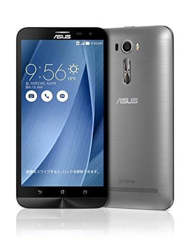 エイスース SIMフリースマートフォン ZenFone 2 Laser(Qualcomm Snapdragon S616/メモリ 3GB)32GB グレー ZE601KL-GY32S3