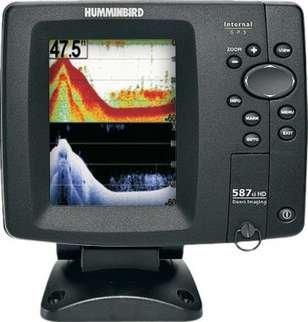 Humminbird Fishfinder 587ci Hd - Di Color Combo Down Imaging Humminbird Fishfinder 587ci Hd - Di Co by Humminbird