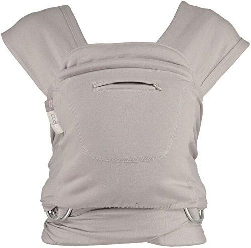 close-parent-caboo-mochila-fular-ergonomica-color-gris-blend-opal
