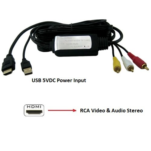 how to connect audio from laptop to tv using rca