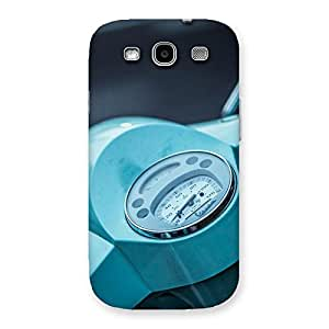 Cute Scooter Meter Multicolor Back Case Cover for Galaxy S3