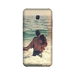 Samsung Galaxy On5 Designer Printed Covers (Samsung Galaxy On5 Back Cover) - Love Couple
