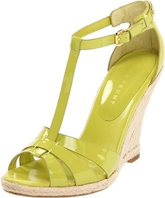 Amazon.com: Ivanka Trump Women's Etta Sandal,Black,10 M US: Shoes
