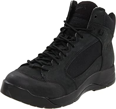 Danner Men's Descender 15406 Uniform Boot,Black,4 D US