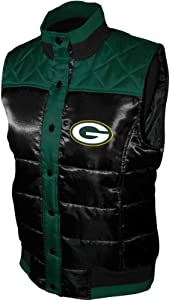 NFL Women's Green Bay Packers Polar Puffer Vest