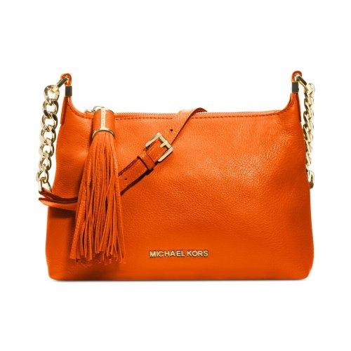 MICHAEL Michael KorsMichael Kors Weston Messenger Handbag in Burnt Orange