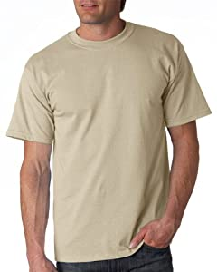 Gildan Adult Ultra Cotton T-Shirt, Sand, XXXXX-Large. 2000