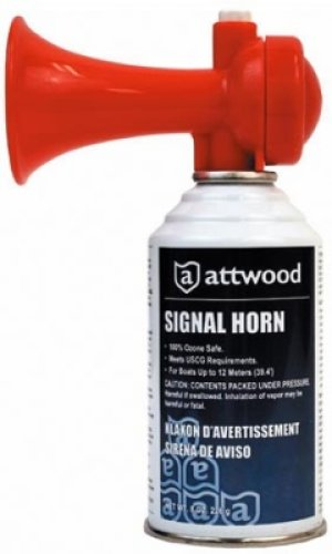 Attwood Signal Horn, (Air Horns In A Can compare prices)