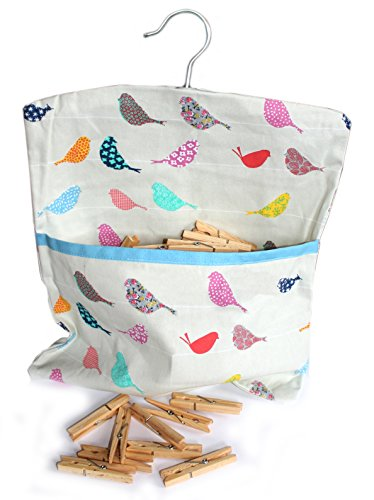 little-birds-multi-coloured-premium-quality-cotton-peg-bag-with-clothes-line-hanging-hook-includes-4