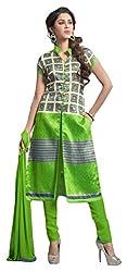 Avc Women's Cotton Unstitched Dress Material (Multi-Coloured)