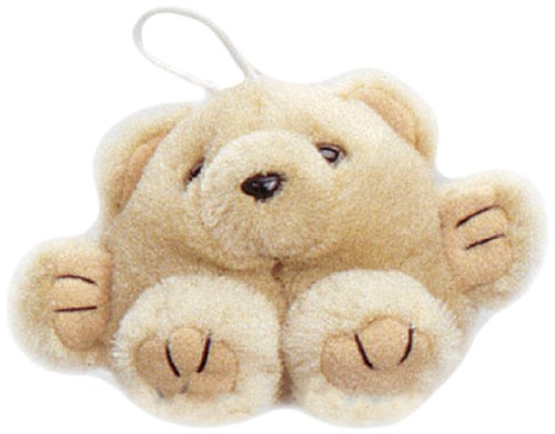 "Purr-Fection Mini Patti Cushy Kid Tan Bear 3"" Plush"