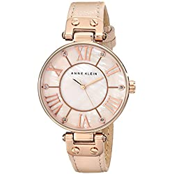 Anne Klein Pink Mother of Pearl Dial Ladies Watch 10-9918RGLP