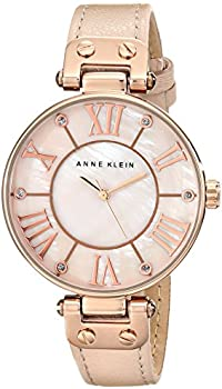 Anne Klein Pink Mother of Pearl Dial Ladies Watch