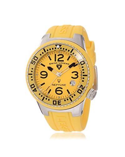 Swiss Legend Women's 11044P-07 Neptune Yellow Silicone Watch