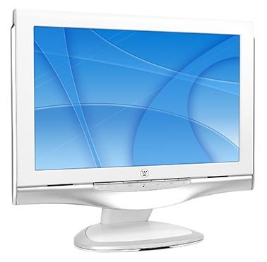17-inch Westinghouse DVI/VGA TFT LCD Flat Panel Monitor
