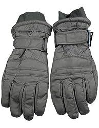 Winter Warm-Up - Little Boys Ski Gloves, Grey 33074-Small