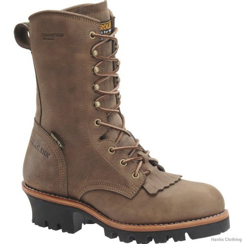 Carolina CA7519 Mens Insulated Logger Boot- Dark Brown