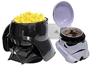 Disney Parks Darth Vader Popcorn Bucket & Stormtrooper Drink Stein/Mug Set - Exclusive & Limited Avialability