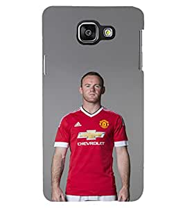 PRINTSHOPPII FOOTBALL SPORTS ROONEY FANS Back Case Cover for Samsung A3 2016 Dous