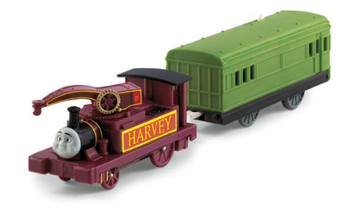 Thomas the Train: TrackMaster Harvey with Car