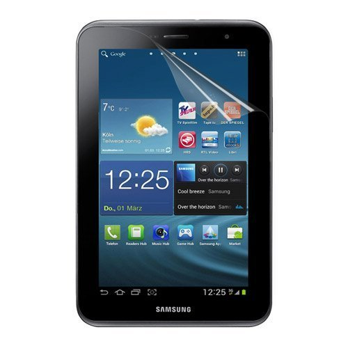 Skque Displayschutzfolie für Samsung Galaxy Tab 2 7.0 P3100 P3110 - Displayschutz Crystal Clear