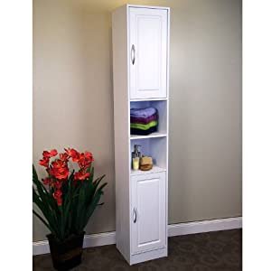 4D Concepts Storage Tower, White