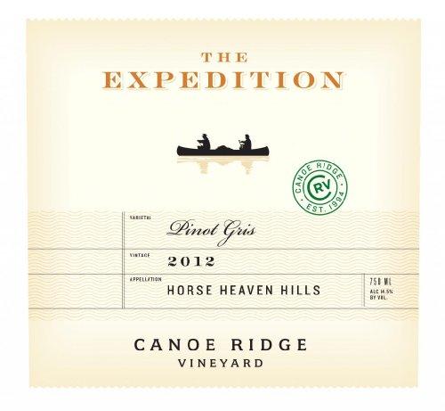 "2012 Canoe Ridge ""The Expedition"" Pinot Gris, Hhh 750 Ml"