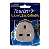 UK to USA / Canada Travel Adaptor Brand New