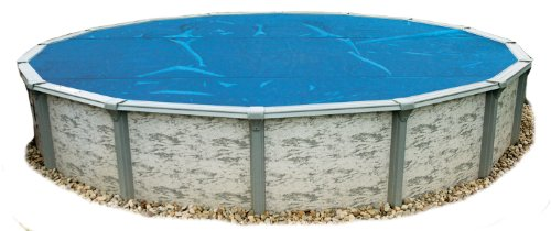 Blue Wave 15-Feet Round 8-Mil Solar Blanket For Above Ground Pools, Blue