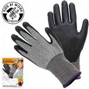 Corvus 600626 Schnittschutz Handschuhe Kids at Work, Größe...