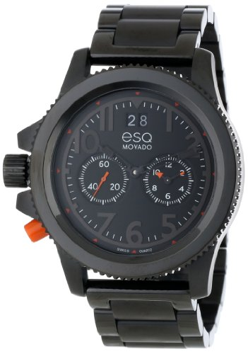 ESQ Movado Men's 07301422 esq Fusion Black Ion-Plated Watch