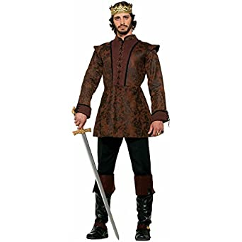 Medieval Fantasy King's Coat Costume Rob Robb Stark Game of Thrones Adult