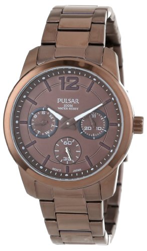 Pulsar - Womens PP6063 Chronograph Watch in Bronze, Color: O/S