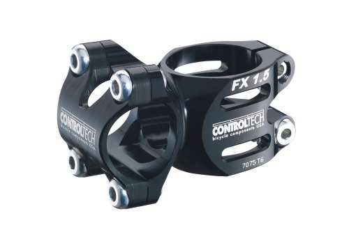 Control Tech FX 6 1.5 MTB Bike Stem, 45mm, Sand Black