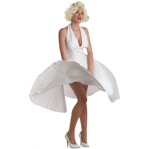 Deluxe Marilyn Monroe Costume - Large - Dress Size 10-12