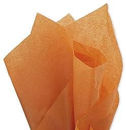 EGP Solid Tissue Paper Burnt Orange 20 x 30