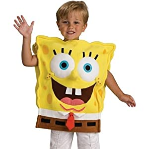 Spongebob Child Halloween Costume Medium