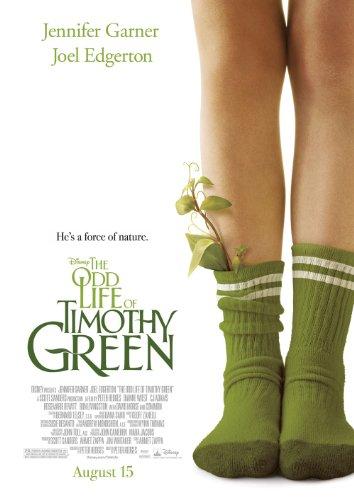 The Odd Life of Timothy Green 2012 Movie Poster Size 29 7x42 Jennifer Garner Joel Edgerton CJ Adams Cindy Green Jim Green Timothy Green