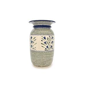 Blue Rose Polish Pottery: Vase
