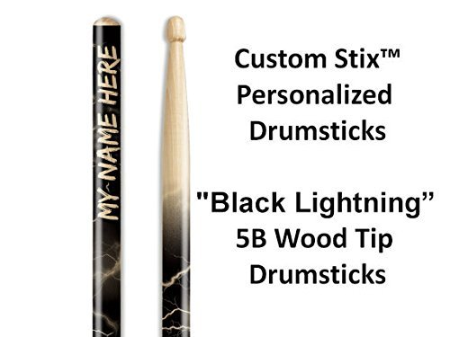 Personalized Drumsticks (1 Pair with Each Order) Lightning custom drumsticks (Custom Stix compare prices)