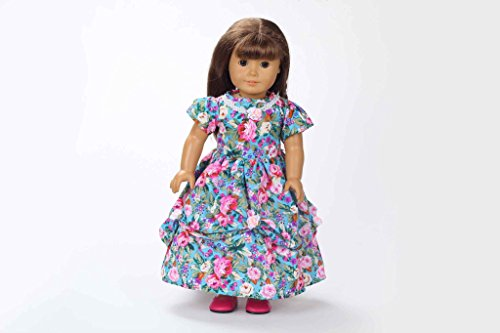 Teenitor(TM) Color Focus Party Dress Fits 18 Inch Girl Dolls (Shipping By FBA)