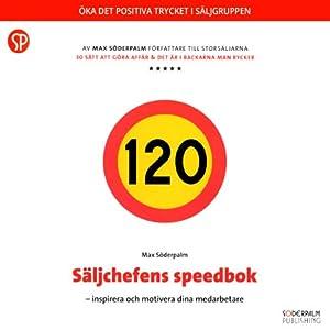 Säljchefens speedbok Audiobook